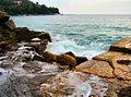 Flickr - ronsaunders47 - GOLDEN BEACH JETTY. THASSOS GREECE..jpg