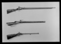 Flintlåsgevär med bakladdningssystem La Chaumette, 1720-tal, engelskt militärgevär - Livrustkammaren - 26399.tif