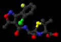 Flucloxacillin-from-xtal-1980-3D-balls-noH.png