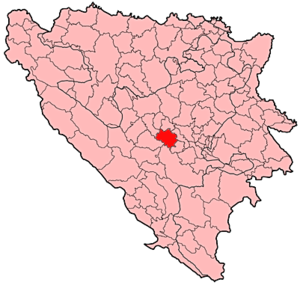 Fojnica Municipality Location.png