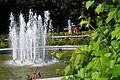 Fontanna w żywieckim parku.. - panoramio.jpg
