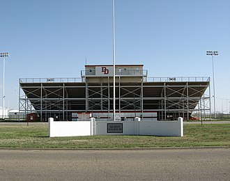 Dumas, Texas - Demon Stadium in Dumas