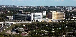 Foothills Medical Centre Hospital in Alberta, Canada