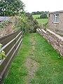 Footpath - Browcliffe - geograph.org.uk - 1514041.jpg