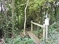 Footpath off Moreton Lane - geograph.org.uk - 1567273.jpg