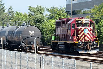 Fore River Transportation Corporation - Fore River Transportation Corporation locomotive