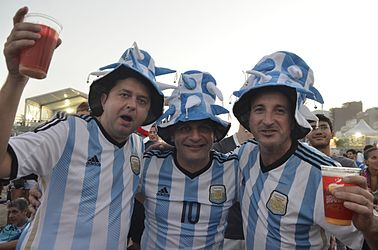 Foreign supporters celebrate the Fifa Fan Fest in RJ 02.jpg