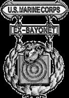 Former USMC Basic Badge