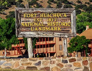 Historic properties in Fort Huachuca National Historic District US Army base