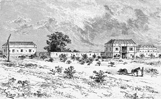 Bamako - French Fort of Bammakou 1883