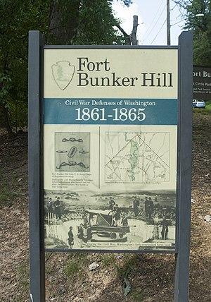 Fort Bunker Hill - Image: Fortbunker 3