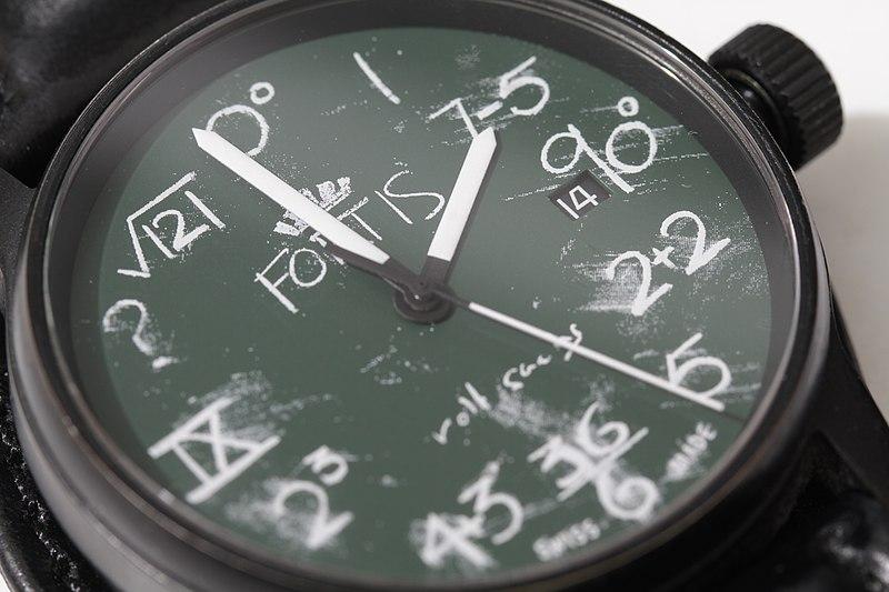 File:Fortis IQ Blackboard Watch designed by Rolf Sachs (5523190543).jpg