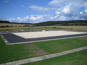 Waldgirmes Forum - reconstructed layout of the Roman forum at Lahnau-Waldgirmes