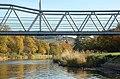 Fotheringham Bridge and the Tweed, Peebles - geograph.org.uk - 1538255.jpg