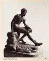 Fotografi på staty av Mercurius - Hallwylska museet - 104161.tif