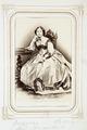 Fotografiporträtt på Cecilie von Hallwyl, f. von Hoff, 1860-talet - Hallwylska museet - 107809.tif