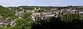 Fougères (35) Le château vu du jardin public 02.JPG