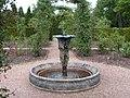 Fountain in the rose garden, Nymans Gardens - geograph.org.uk - 439541.jpg
