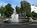 Fountain near the station at Bingen - geo.hlipp.de - 21482.jpg