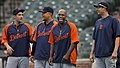 Four Detroit Tigers players (13988331467).jpg