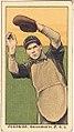 Fournier, Sacramento Team, baseball card portrait LCCN2008677321.jpg