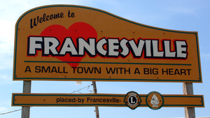 Francesville, Indiana - Image: Francesville, Indiana welcome