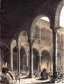 Francisco Javier Parcerisa (1853) Patio del Palacio Arzobispal de Alcalá de Henares.png