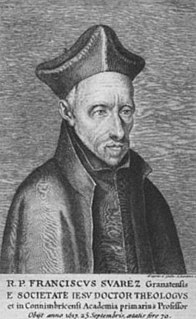 Francisco Suárez Spanish priest, philosopher and theologian