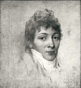 Franciszek Ksawery Lampi - Study for a portrait