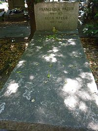 Franciszek Mazur grób2.JPG