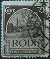 Francobollo di Rodi - 50 cent - 1929 - serie pittorica.jpg