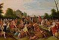 Frans Francken (II) and Hieronymus Francken (III) - The triumphal procession of Bacchus.jpg