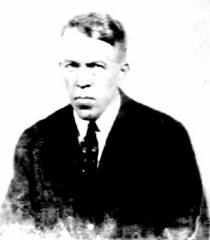 Fred Norcross - Norcross in 1921 passport photo