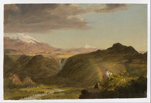 Frederic Edwin Church - South American Landscape - Google Art Project