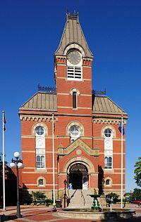 Rathaus von Fredericton