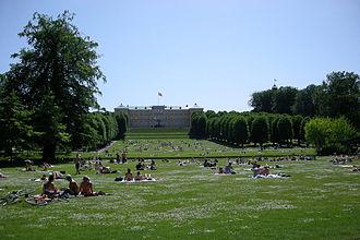 Frederiksberg Gardens - Image: Frederiksberg Have Palace