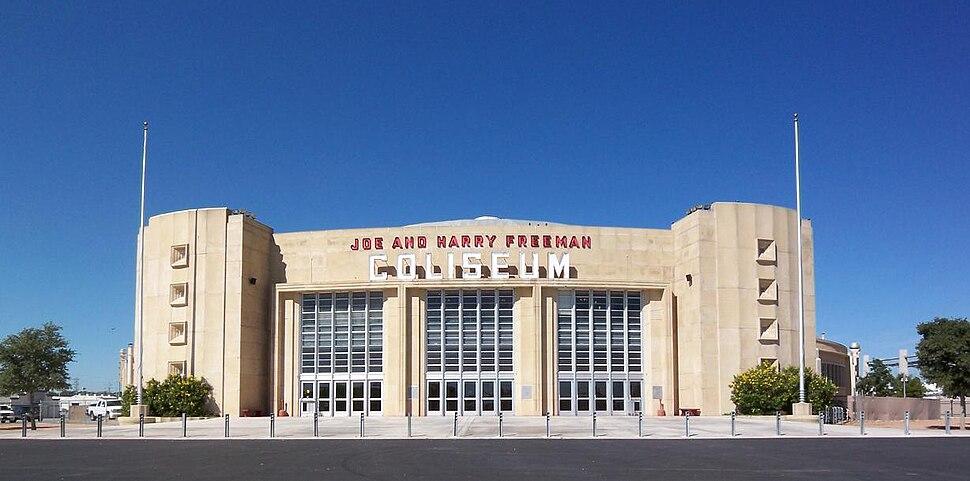 The Joe and Harry Freeman Coliseum