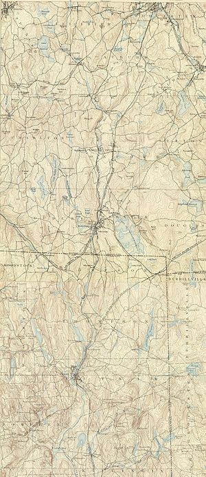 French River (Massachusetts) - French River and environs