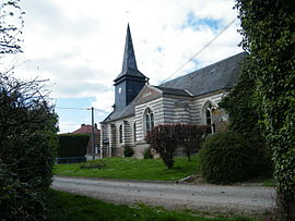 The church in Fresneville