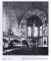 Friedenskirche an der Florastraße in Düsseldorf-Unterbilk, 1896 bis 1899, Architekt Georg Weidenbach, Innenansicht zum Chor.jpg