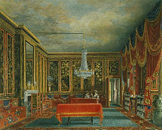Frogmore House - Image: Frogmore House, Japan Room, by Charles Wild, 1819 royal coll 922122 257046 ORI 0 0