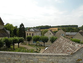 A general view of Frouville