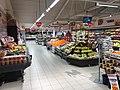 Fruits and vegetables displayed for sale in Spar Supermarket in Tjøme, Norway. 2018-12-16 A.jpg