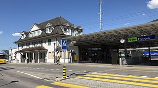 Frutigen railway station