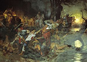 Funeral feast of russians in 971 by Siemiradzki.jpg