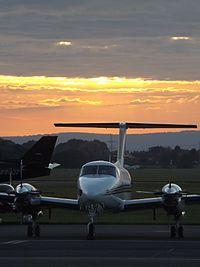 G-CIFE - BE20 - EVA Air