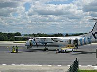 G-FLBB - DH8D - Flybe
