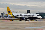 G-OZBW A320 Monarch BCN.jpg