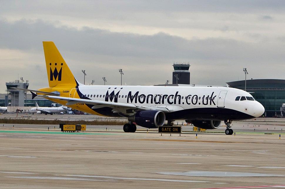 G-OZBW A320 Monarch BCN