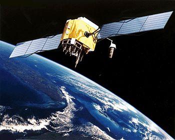 GPS Satellite NASA art-iif.